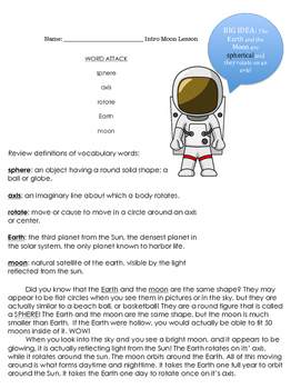 Introduction to the Moon's Shape