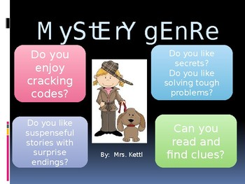 Introduction to the Mystery Genre-PowerPoint