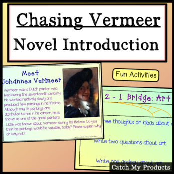 Introduction to the Novel Chasing Vermeer by Blue Balliett