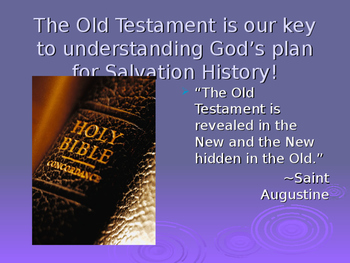 Introduction to the Old Testament Part 2 Power Point