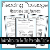 Introduction to the Periodic Table Questions and Answers