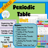 Introduction to the Periodic Table Unit -BUNDLE