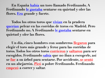Introduction to the Preterite and Imperfect Spanish Powerpoint