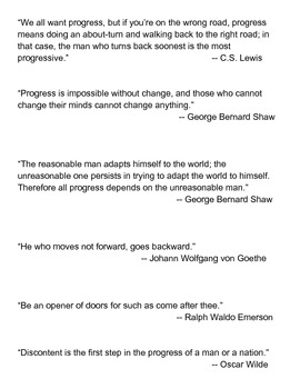 Introduction to the Progressive Era Lesson Plan