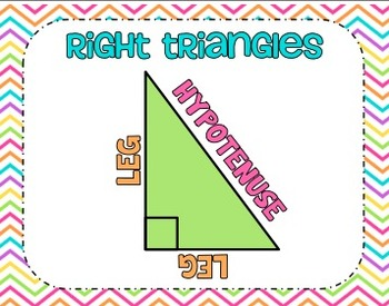 Introduction to the Pythagorean Theorem Interactive Notebook