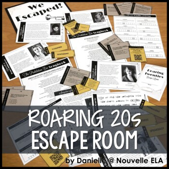 The Great Gatsby Escape Room - Introduction to the Roaring ...