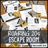 The Great Gatsby Escape Room - Introduction to the Roaring