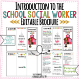 Introduction to the School Social Worker Editable