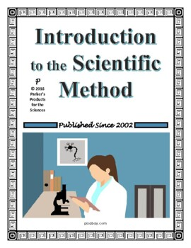 Introduction to the Scientific Method Worksheet