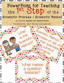 1 Introduction to the Scientific Process - Scientific Method Powerpoint