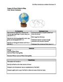 Introduction to the Seven Continents Unit Plan- Primary or Lower Elementary
