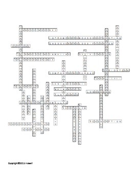 Introduction to the Skeletal System Crossword