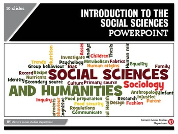 Introduction to the Social Sciences PPT