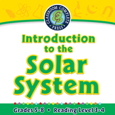 Introduction to the Solar System - NOTEBOOK Gr. 5-8