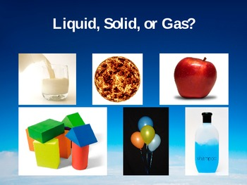 Introduction to the States of Matter PowerPoint