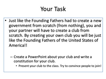 Introduction to the U.S. Constitution: Create a Club (Collaborative Work)
