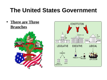 Introduction to the US Government, Branches, Duties, and S