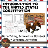 Introduction to the United States Constitution Note-taking Activities