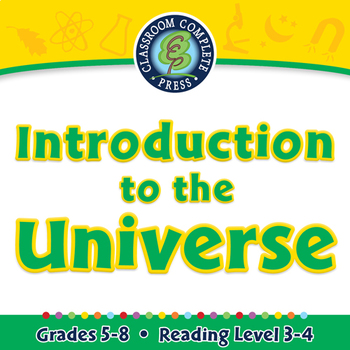 Introduction to the Universe - NOTEBOOK Gr. 5-8