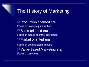 Introduction to the World of Marketing