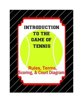 Introduction to the game of Tennis (Rules, Scoring, Terms,
