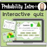 Introduction to the language of probability interactive quiz