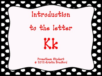 Introduction to the letter Kk
