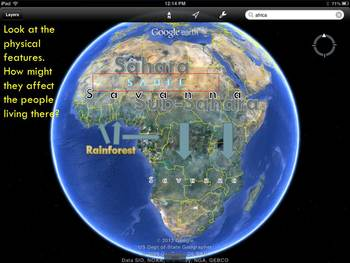 Introduction to Geography of Africa PowerPoint