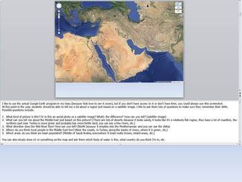 Introduction to/Geography of the Middle East PowerPoint