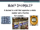 Introduction to Decimals PowerPoint