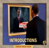 Introductions – Business English - ESL adult conversation classes