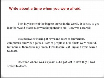 Narrative Introductions - Sample Introductions for Writing Instruction