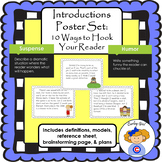 Introductions Poster Set: 10 Good Ways to Hook Your Reader
