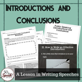 Introductions and Conclusions in Public Speaking