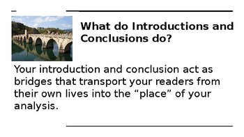 Introductions and Conclusions PowerPoint