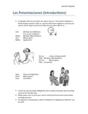 Introductions and Greetings in Spanish