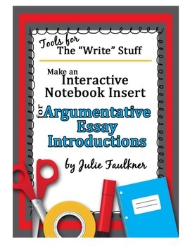 writing introductions to argumentative essays In this lesson you will learn to write an introductory paragraph to engage the  reader in the topic by telling your reader why this issue is.