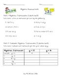 Introductory Algebra Assessment