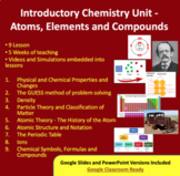 Chemistry Introduction Unit - Atoms, Elements and Compounds