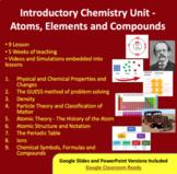 Chemistry Introduction Unit Bundle - Atoms, Elements and C