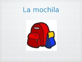 Elementary Spanish Materiales Escolares Unit