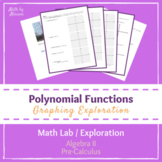 Polynomial Functions Exploration (PrBL PBL Activity)