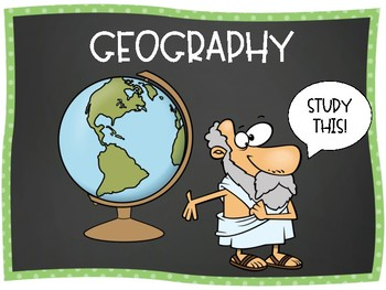 Introductory Geography Word Wall