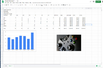 Introductory Google Sheets Project