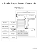 Introductory Internet Research Template