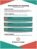 Introductory Jumping Lesson Plan