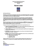 Introductory Letter to Parents for a History Class in English and Spanish