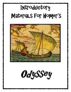 Introductory Materials for Homer's Odyssey