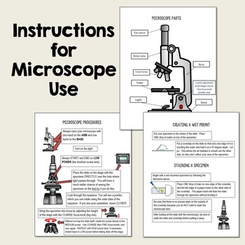 Introductory Microscope Lab