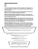 Introductory Paragraph Explanation and Graphic Organizer